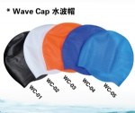 Wave Swimming Caps