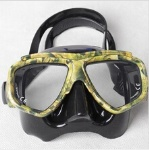 Camouflage Diving Mask