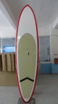 SUP Boards with Red Bottom and Rail