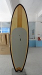 Fish Tail Wooden Veneer SUP