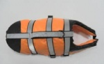 Customized pet life jackets can be printed with your own logo and accept small orders