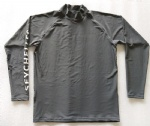 Customized Grey Rash Guard