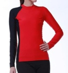 Customized Logo Long Sleeves Red and Black Rash Guards All Accept Small Orders