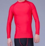 Customized Logo Long Sleeves Rash Guards All Accept Small Orders