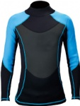Customized Neoprene Wetsuit Jacket Lycra Rash Guards Anti-UV Keep Warm
