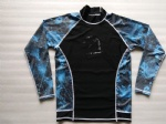 Customized Model Sublimation Long Sleeves Printing Rash Guard