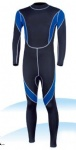 Customized Blue and Black Wetsuit 3/2mm
