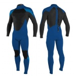 Customized Full Blue and Black Wetsuit for Men