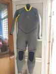 Customized Grey and Yellow Full Wesuits 3/2mm