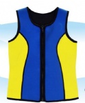 Customized Sleeveless Wetsuits Top Jackets for Kids
